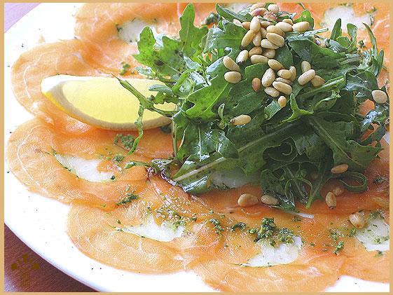 Foto de Carpaccio de salmón
