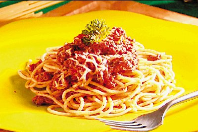 Foto de Espaguetis a la boloñesa