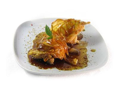 Foto de Muslos de pollo a la mexicana