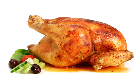 Foto de Pollo al horno con Natural Shape
