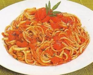 Foto de Spaguetti con tomate y especias